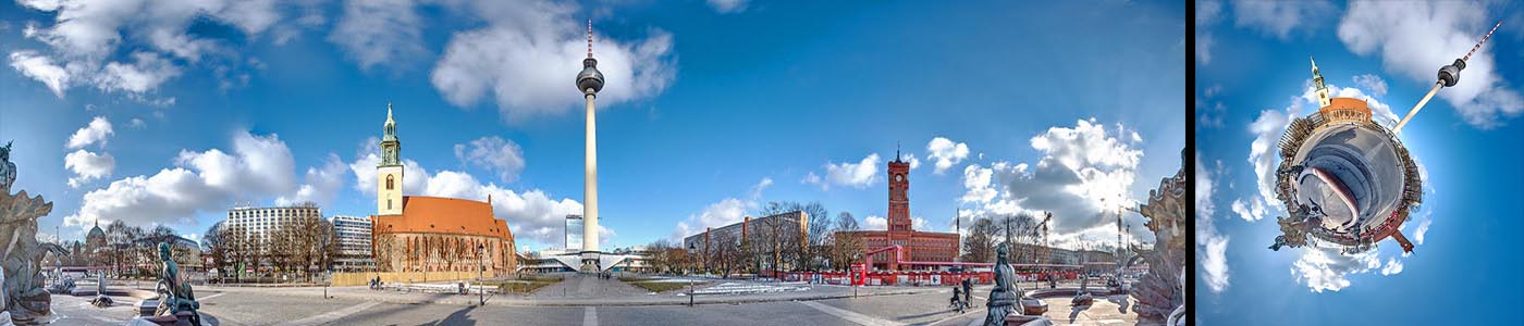 360° Panorama Alexanderplatz