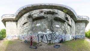 Klettern am Bunker Berlin, Volkspark Humboldthain